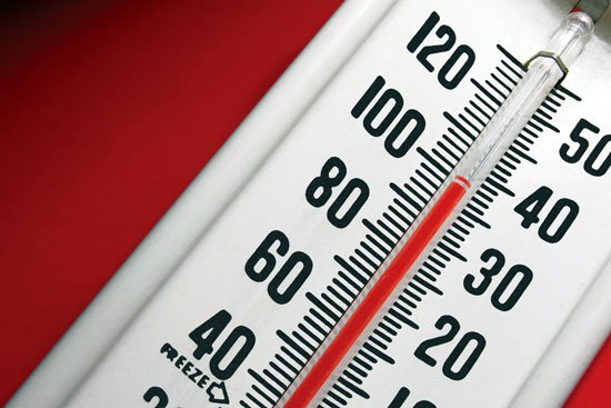 High Heat Thermometer