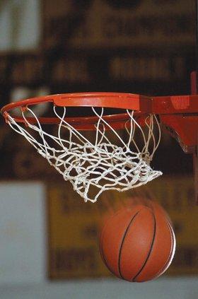 basketball net swish