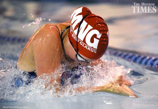 monroe swim 2