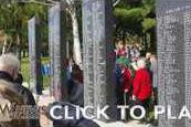 Lancaster Area Veterans Memorial dedication