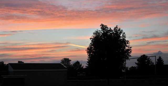 Thu sunset