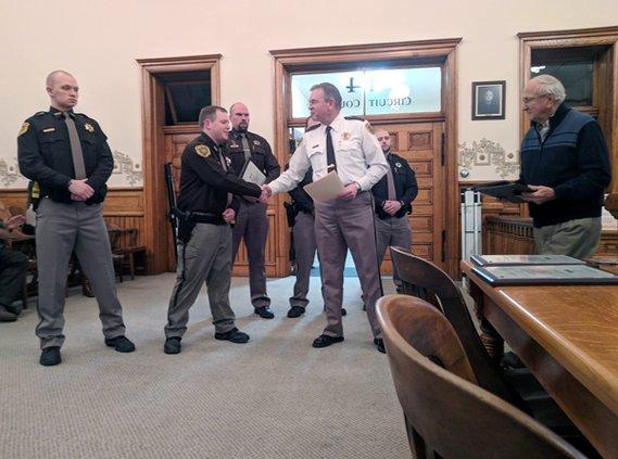 deputies awarded 1
