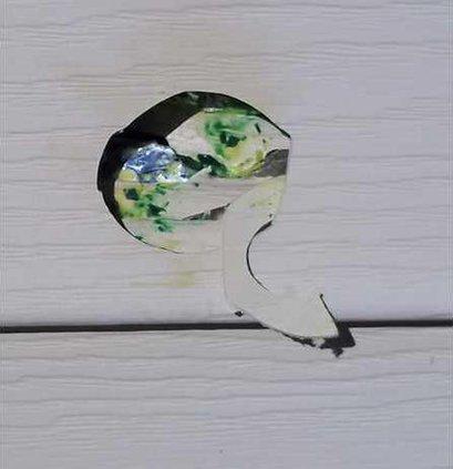 paintball vandalism