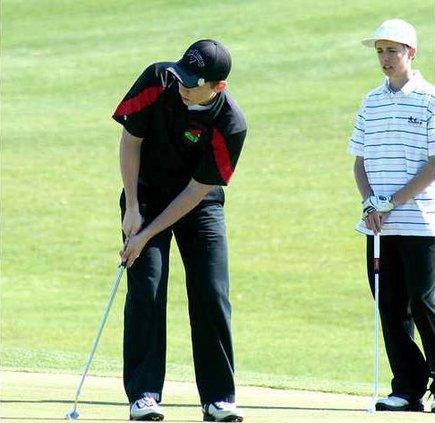 Darl Golf Schulte putt MP