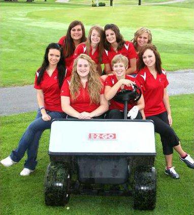 SWDarl-CC girls golf team