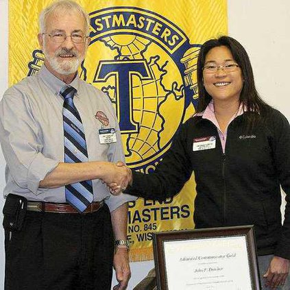 Toastmasters Gold Award 003