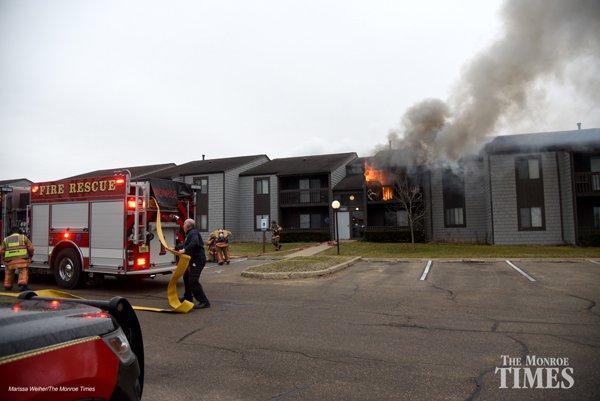 Monroe Village Fire 01