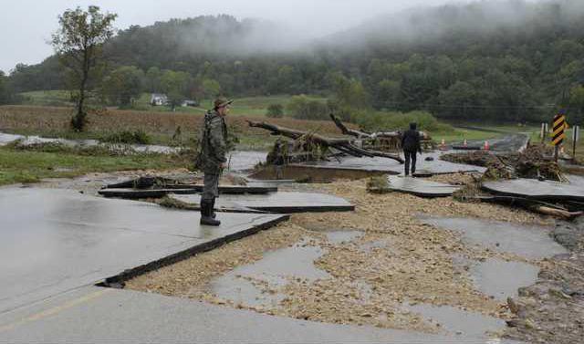 CROP flood damage