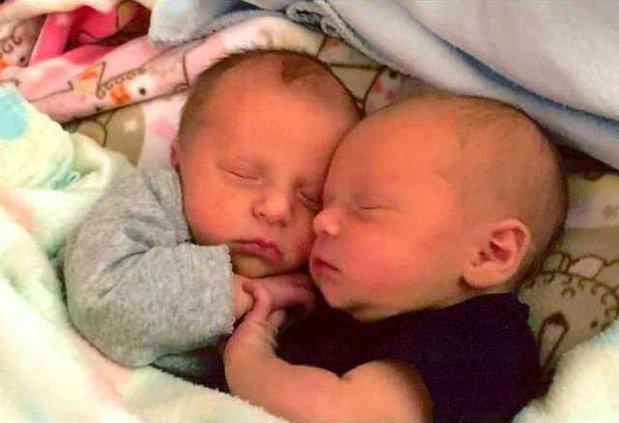 Teutschmann Twin Babies