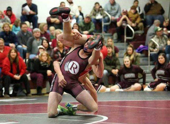 RHS wrestling Shale Meyer v Boscobel
