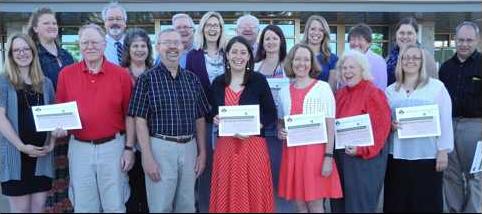 PCF grant recipients