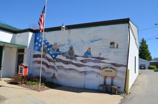 veterans mural