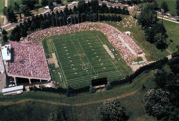 FB Ralph E Davis Aerial Stadium