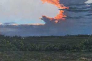 Heyer Anvil Cloud at Sunset