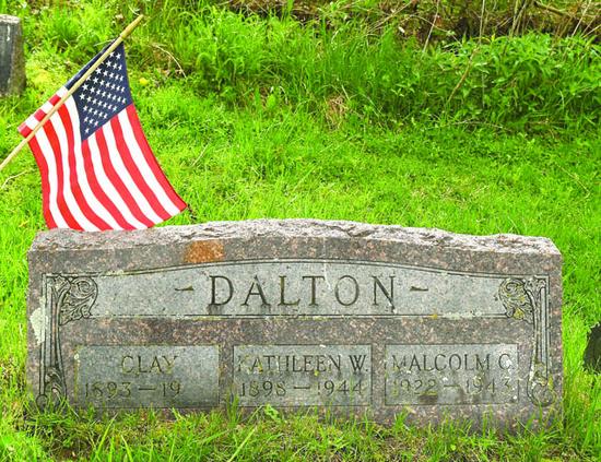 Dalton tombstone