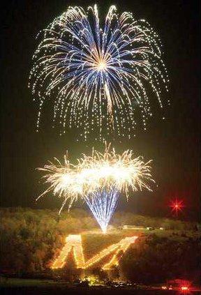 1 M fireworks