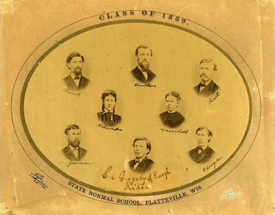 Class of 1869    First Normal School Class   001