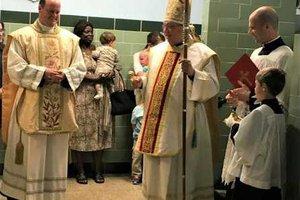 Bishop blessing 9-5-18 2