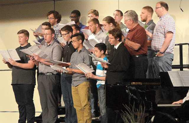 2A male choir