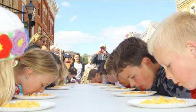 kids cheesecurd contest