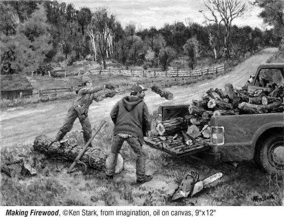Making Firewood