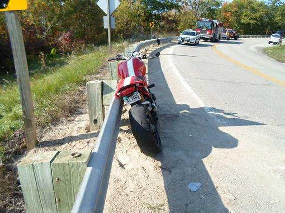 bagent motorcycle crash