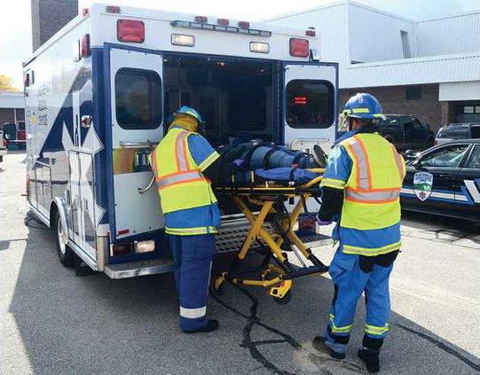 1B ambulance