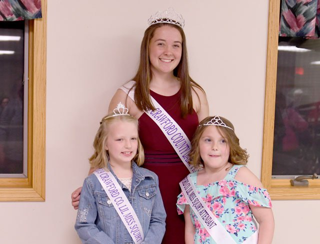 2019 Crawford County Dairy Royalty