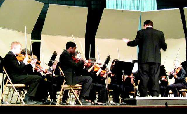 PHS Vets Day orchestra