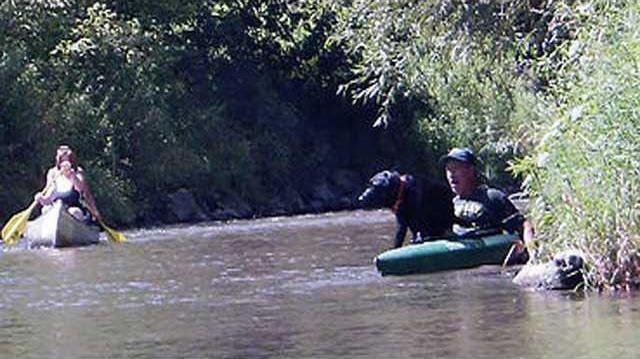 CROP Readstown canoeing