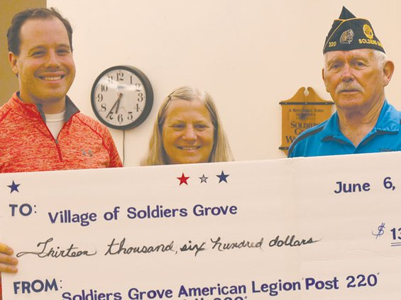 Legion donation