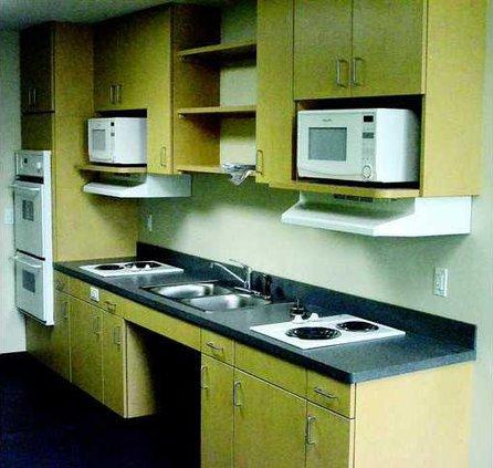 Rountree common kitchen