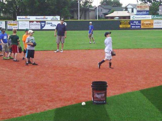 infield practice lumber yard la crosse