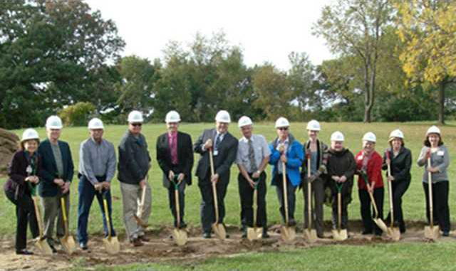 memory care home groundbreaking