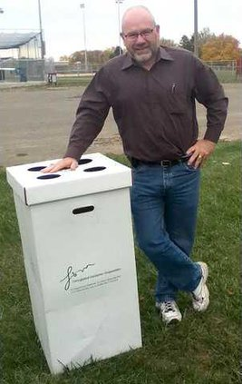 Ed White - Dairy Days Committee and Donate Recycling Bin