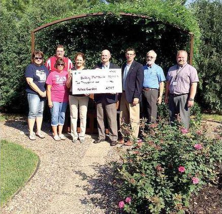 Katies Garden rose arbor