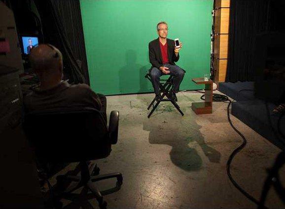 Mark Hirsch at CBS Studios New York 1