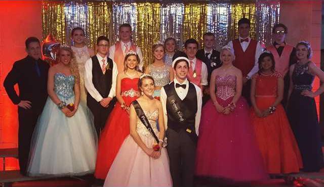 PHS prom court