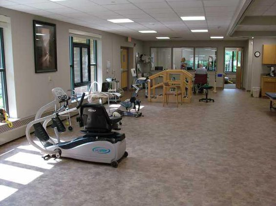 new therapy center at bethel home