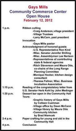 open-house-agenda