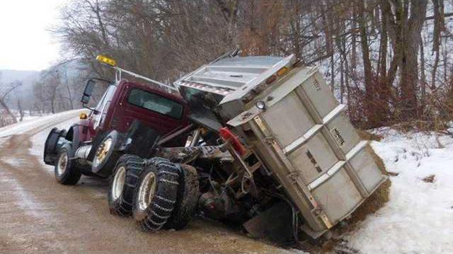 CROP plow truck