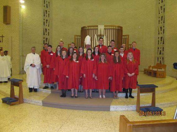 Confirmation Holy Rosary