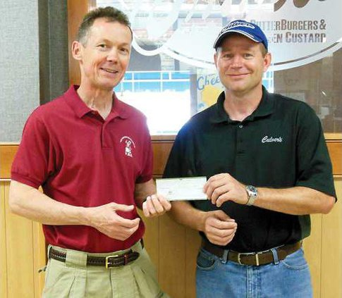 Culvers Music Boosters donation