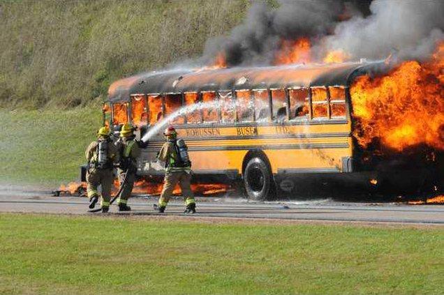 10-13 bus fire