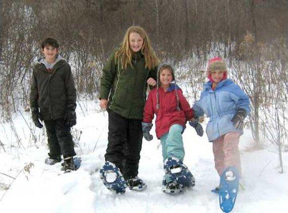 Belmont Snowshoeing