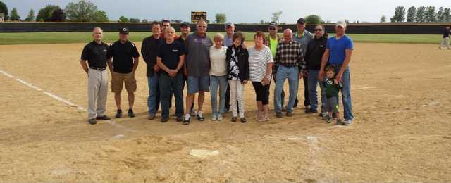 CC Baseball Diamond Dedication