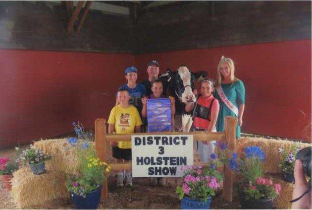 District 3 Holstein Show Premier Exhibitor