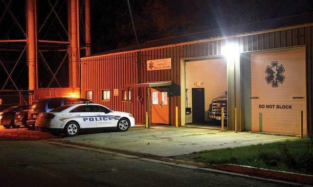 EMS garage night