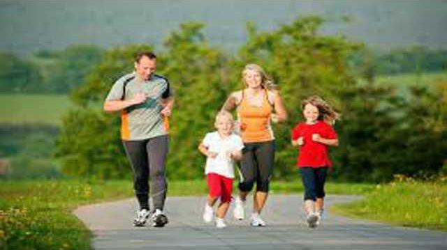 Families Running