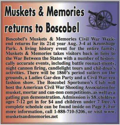 Muskets  Memories